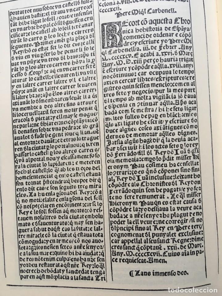 Libros antiguos: LES QUATRE GRANS CRÒNIQUES. 5 VOLS. - Jaume I - Bernat Desclot - Muntaner - Pere -LIMITADA NUMERADA - Foto 23 - 183507750