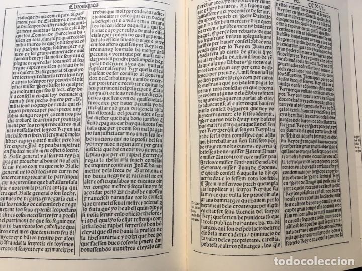 Libros antiguos: LES QUATRE GRANS CRÒNIQUES. 5 VOLS. - Jaume I - Bernat Desclot - Muntaner - Pere -LIMITADA NUMERADA - Foto 24 - 183507750