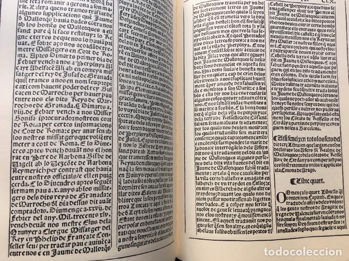 Libros antiguos: LES QUATRE GRANS CRÒNIQUES. 5 VOLS. - Jaume I - Bernat Desclot - Muntaner - Pere -LIMITADA NUMERADA - Foto 25 - 183507750