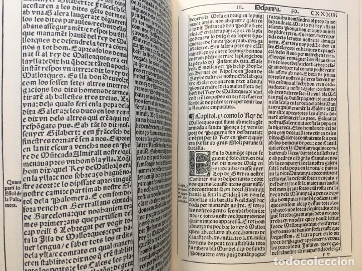 Libros antiguos: LES QUATRE GRANS CRÒNIQUES. 5 VOLS. - Jaume I - Bernat Desclot - Muntaner - Pere -LIMITADA NUMERADA - Foto 26 - 183507750