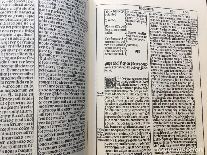 Libros antiguos: LES QUATRE GRANS CRÒNIQUES. 5 VOLS. - Jaume I - Bernat Desclot - Muntaner - Pere -LIMITADA NUMERADA - Foto 28 - 183507750