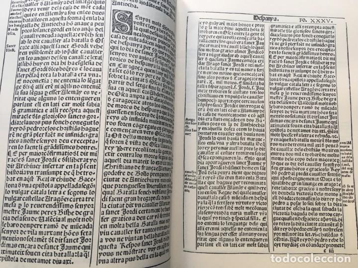 Libros antiguos: LES QUATRE GRANS CRÒNIQUES. 5 VOLS. - Jaume I - Bernat Desclot - Muntaner - Pere -LIMITADA NUMERADA - Foto 29 - 183507750