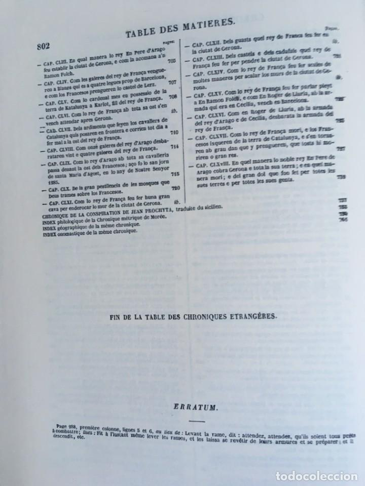 Libros antiguos: LES QUATRE GRANS CRÒNIQUES. 5 VOLS. - Jaume I - Bernat Desclot - Muntaner - Pere -LIMITADA NUMERADA - Foto 35 - 183507750