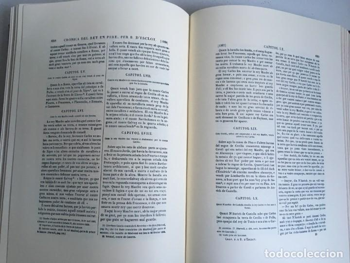 Libros antiguos: LES QUATRE GRANS CRÒNIQUES. 5 VOLS. - Jaume I - Bernat Desclot - Muntaner - Pere -LIMITADA NUMERADA - Foto 36 - 183507750