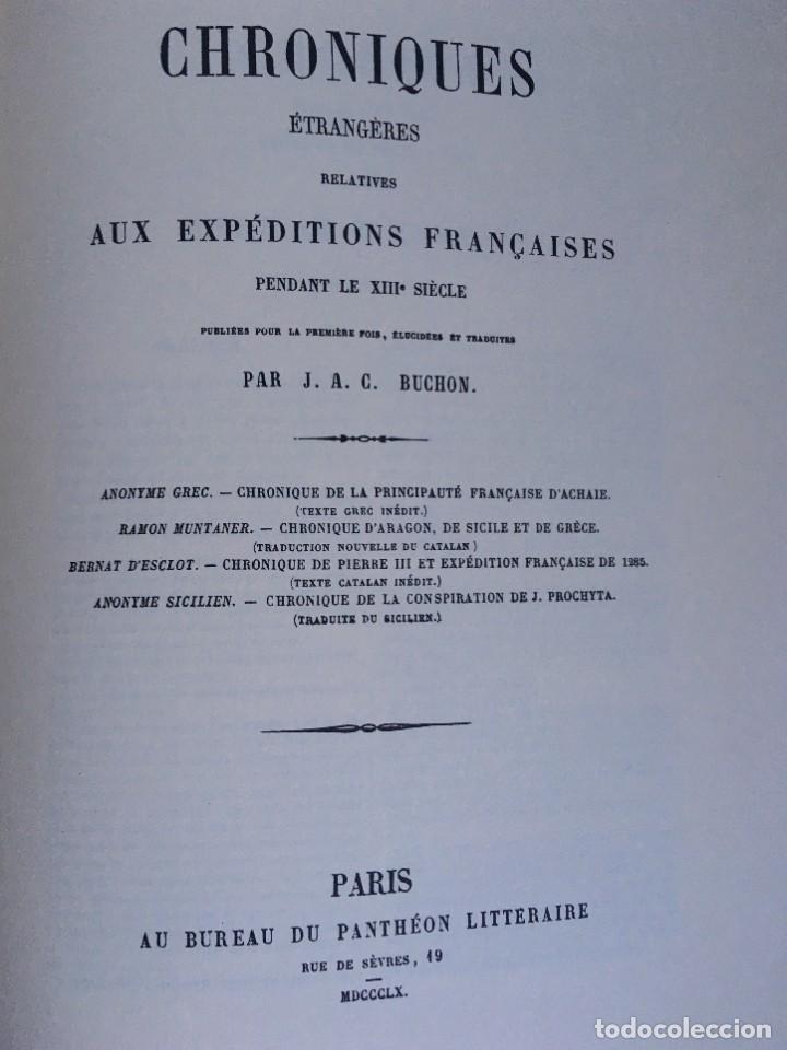 Libros antiguos: LES QUATRE GRANS CRÒNIQUES. 5 VOLS. - Jaume I - Bernat Desclot - Muntaner - Pere -LIMITADA NUMERADA - Foto 37 - 183507750