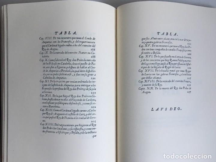 Libros antiguos: LES QUATRE GRANS CRÒNIQUES. 5 VOLS. - Jaume I - Bernat Desclot - Muntaner - Pere -LIMITADA NUMERADA - Foto 39 - 183507750