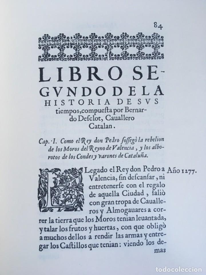 Libros antiguos: LES QUATRE GRANS CRÒNIQUES. 5 VOLS. - Jaume I - Bernat Desclot - Muntaner - Pere -LIMITADA NUMERADA - Foto 46 - 183507750