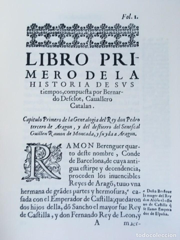 Libros antiguos: LES QUATRE GRANS CRÒNIQUES. 5 VOLS. - Jaume I - Bernat Desclot - Muntaner - Pere -LIMITADA NUMERADA - Foto 50 - 183507750