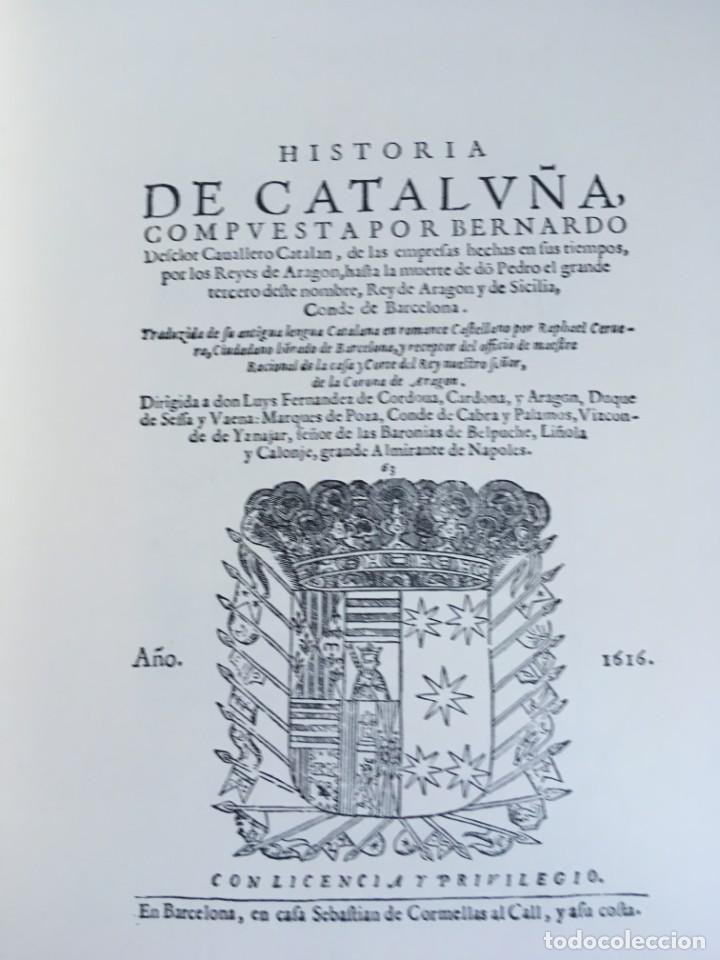 Libros antiguos: LES QUATRE GRANS CRÒNIQUES. 5 VOLS. - Jaume I - Bernat Desclot - Muntaner - Pere -LIMITADA NUMERADA - Foto 51 - 183507750