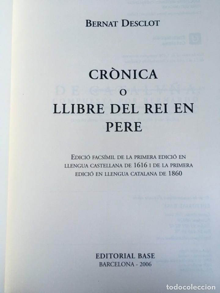 Libros antiguos: LES QUATRE GRANS CRÒNIQUES. 5 VOLS. - Jaume I - Bernat Desclot - Muntaner - Pere -LIMITADA NUMERADA - Foto 52 - 183507750