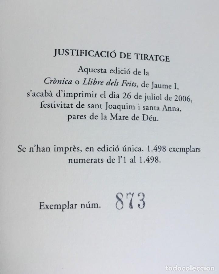 Libros antiguos: LES QUATRE GRANS CRÒNIQUES. 5 VOLS. - Jaume I - Bernat Desclot - Muntaner - Pere -LIMITADA NUMERADA - Foto 57 - 183507750