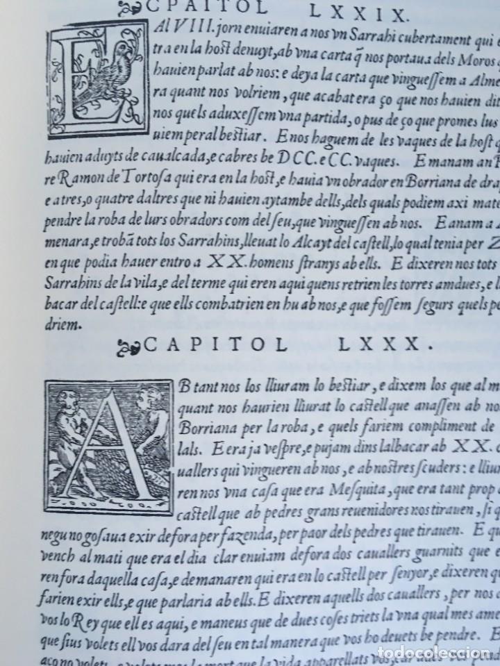 Libros antiguos: LES QUATRE GRANS CRÒNIQUES. 5 VOLS. - Jaume I - Bernat Desclot - Muntaner - Pere -LIMITADA NUMERADA - Foto 59 - 183507750