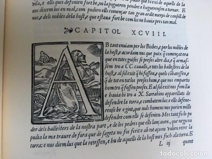 Libros antiguos: LES QUATRE GRANS CRÒNIQUES. 5 VOLS. - Jaume I - Bernat Desclot - Muntaner - Pere -LIMITADA NUMERADA - Foto 60 - 183507750