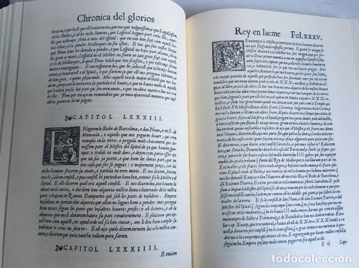 Libros antiguos: LES QUATRE GRANS CRÒNIQUES. 5 VOLS. - Jaume I - Bernat Desclot - Muntaner - Pere -LIMITADA NUMERADA - Foto 62 - 183507750