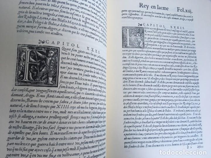 Libros antiguos: LES QUATRE GRANS CRÒNIQUES. 5 VOLS. - Jaume I - Bernat Desclot - Muntaner - Pere -LIMITADA NUMERADA - Foto 64 - 183507750
