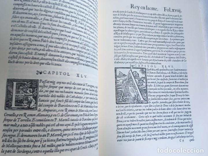 Libros antiguos: LES QUATRE GRANS CRÒNIQUES. 5 VOLS. - Jaume I - Bernat Desclot - Muntaner - Pere -LIMITADA NUMERADA - Foto 65 - 183507750