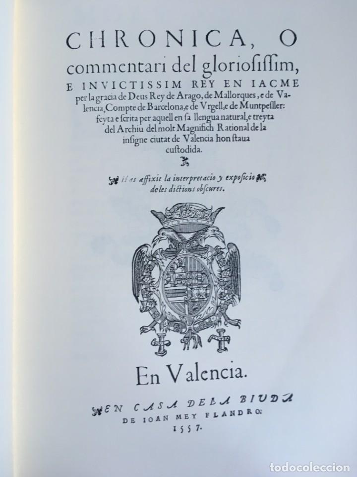 Libros antiguos: LES QUATRE GRANS CRÒNIQUES. 5 VOLS. - Jaume I - Bernat Desclot - Muntaner - Pere -LIMITADA NUMERADA - Foto 66 - 183507750