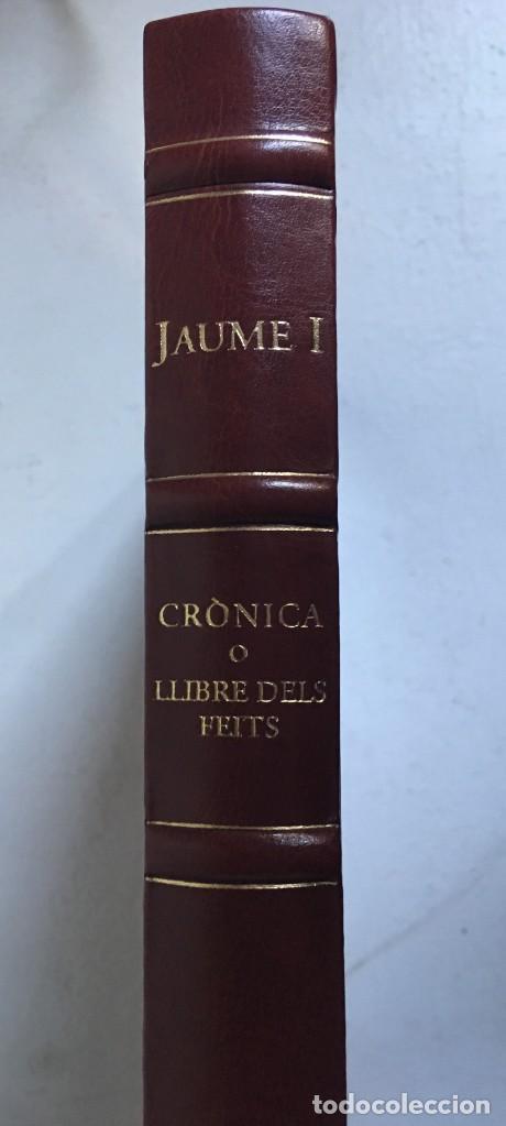Libros antiguos: LES QUATRE GRANS CRÒNIQUES. 5 VOLS. - Jaume I - Bernat Desclot - Muntaner - Pere -LIMITADA NUMERADA - Foto 69 - 183507750