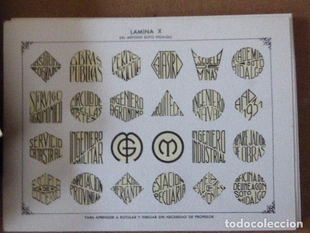 Libros antiguos: METODO DE DIBUJO. SOTO HIDALGO. ESTUCHE CON 30 LAMINAS A DOBLE CARA EN CARTÓN. - Foto 2 - 183544933
