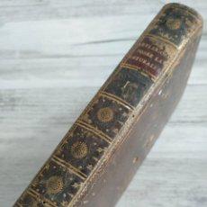 Libros antiguos: REFLEXIONES SOBRE LA NATURALEZA (1794) - TOMO 1 - M.C.C. STURM. Lote 183560781