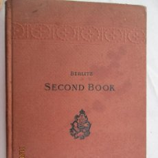 Libros antiguos: BERLITZ - METHOD FOR TEACHING MODERN LANGUAGES - ENGLISH PART - SECOND BOOK - 1929. Lote 183568611