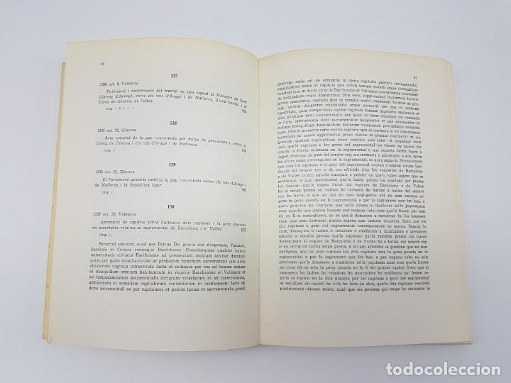 Libros antiguos: PRIVILEGIS REIALS CONCEDITS A LA CIUTAD DE BARCELONA ( CORONA DARAGÒ ) 1971 - Foto 5 - 183586241
