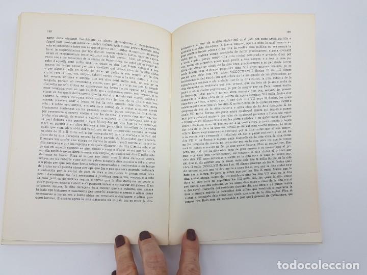 Libros antiguos: PRIVILEGIS REIALS CONCEDITS A LA CIUTAD DE BARCELONA ( CORONA DARAGÒ ) 1971 - Foto 7 - 183586241