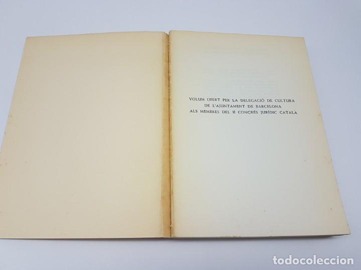 Libros antiguos: PRIVILEGIS REIALS CONCEDITS A LA CIUTAD DE BARCELONA ( CORONA DARAGÒ ) 1971 - Foto 8 - 183586241