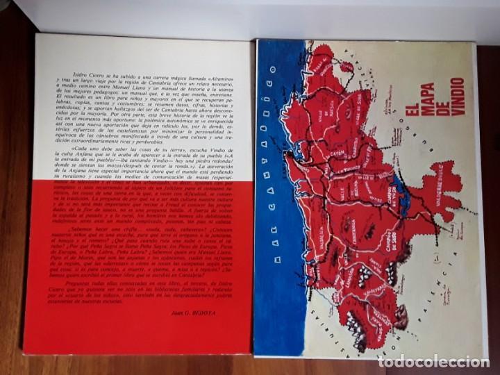 Libros antiguos: VINDIO. LA HISTORIA DE CANTABRIA CONTADA A LOS NIÑOS.TOMOS 1 Y 2. - Foto 2 - 183676650