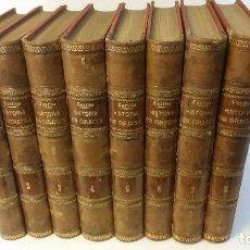 Libros antiguos: 1887 - ERNESTO CURTIUS / ALEJANDRO GARCÍA MORENO - HISTORIA DE GRECIA - 8 TOMOS (OBRA COMPLETA) . Lote 183677838