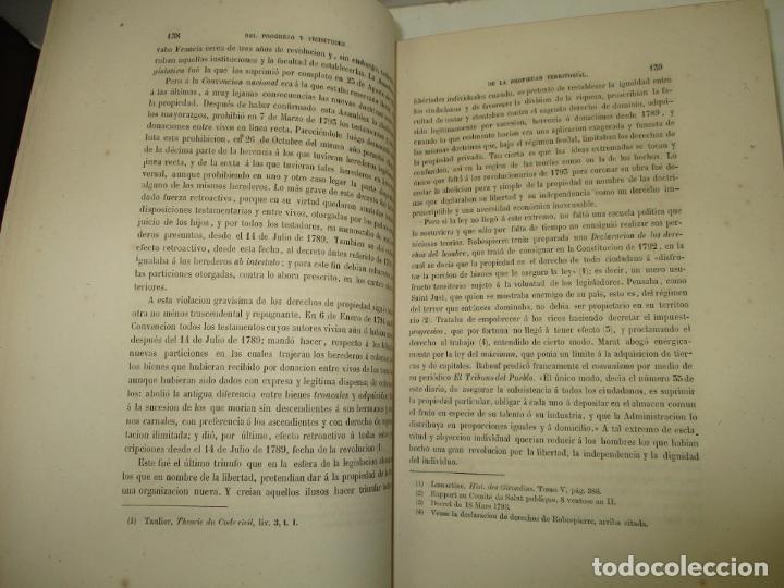 Libros antiguos: ENSAYO SOBRE LA HISTORIA DE LA PROPIEDAD TERRITORIAL EN ESPAÑA. CÁRDENAS, D. Francisco de. 1873. - Foto 4 - 183698725