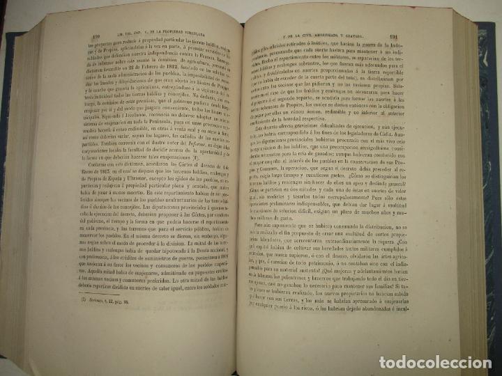 Libros antiguos: ENSAYO SOBRE LA HISTORIA DE LA PROPIEDAD TERRITORIAL EN ESPAÑA. CÁRDENAS, D. Francisco de. 1873. - Foto 7 - 183698725