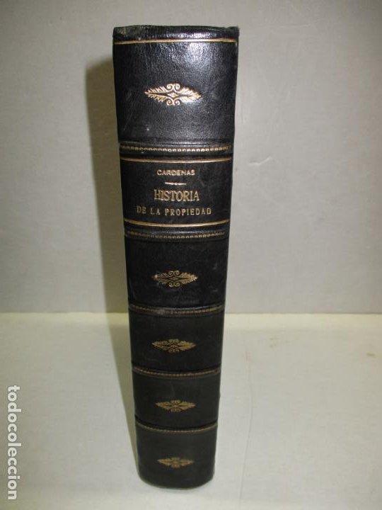 ENSAYO SOBRE LA HISTORIA DE LA PROPIEDAD TERRITORIAL EN ESPAÑA. CÁRDENAS, D. FRANCISCO DE. 1873. (Libros Antiguos, Raros y Curiosos - Historia - Otros)
