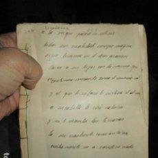 Libros antiguos: LIBRO ANTIGUO 1927 RELIGIOSO MANUSCRITO A LA VIRGEN INEDITO DE CARLOS HERRERO54 PGS. Lote 58757438