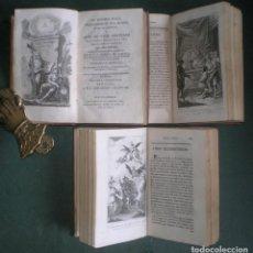 Livres anciens: TEODORO DE ALMEYDA: EL HOMBRE FELIZ ... O ARTE DE VIVIR CONTENTO. 3 VOLS. AÑO 1800. 25 LÁMINAS GRAB.. Lote 183820353