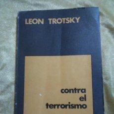 Livres anciens: CONTRA EL PENSAMIENTO - LEÓN TROSTSKY - EDICIONES PLUMA 1975.. Lote 183854955