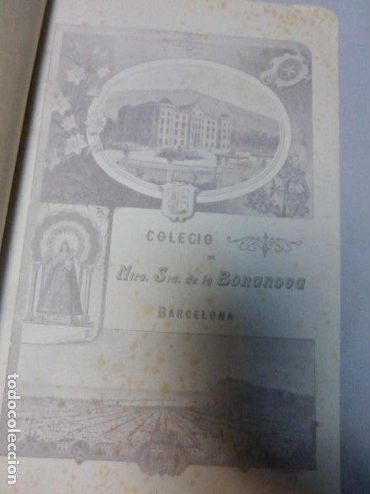 Libros antiguos: Colegio Ntra. Señora de la Bonanova DISTRIBUCIÓN DE PREMIOS MEMORIA DEL CURSO 1921 - 1922 - Foto 4 - 183860347