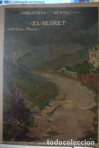 BIBLIOTECA GENTIL EL SECRET J.M. FOLCH I TORRES - PORTAL DEL COL·LECCIONISTA ***** (Libros Antiguos, Raros y Curiosos - Literatura Infantil y Juvenil - Otros)