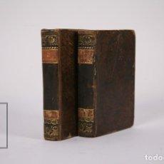 Livres anciens: ANTIGUO LIBRO - EL SOLITARIO DEL MONTE SALVAJE TOMOS 1 Y 2 / VIZCONDE ARLINCOURT- LIBRERIA CABRERIZO. Lote 184020496