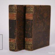Libros antiguos: ANTIGUO LIBRO- LA ESTRANJERA O LA MUJER MISTERIOSA TOMOS 1 Y 2 / VIZCONDE ARLINCOURT -CABRERIZO 1839. Lote 184020515