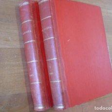 Libros antiguos: LA ESFERA. 2 TOMOS. AÑO 1915. BUENA ENCUADERNACIÓN.. Lote 184173036