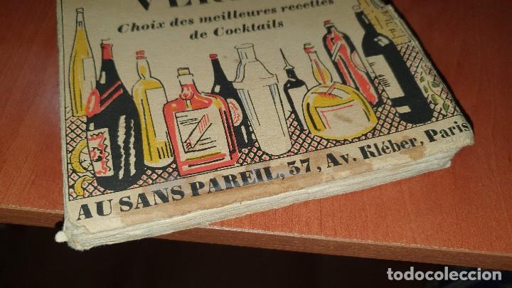 Libros antiguos: Petits et grands verres, cocktails, edicion francesa sin fechar, cocteles - Foto 2 - 184256508