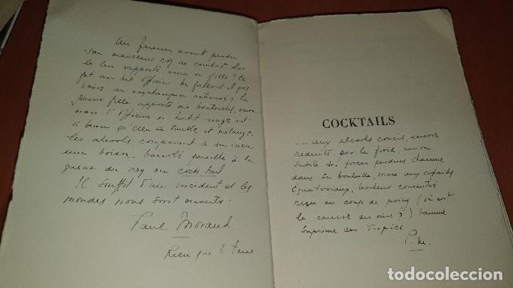 Libros antiguos: Petits et grands verres, cocktails, edicion francesa sin fechar, cocteles - Foto 5 - 184256508