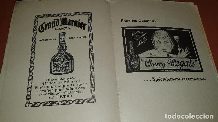 Libros antiguos: Petits et grands verres, cocktails, edicion francesa sin fechar, cocteles - Foto 8 - 184256508