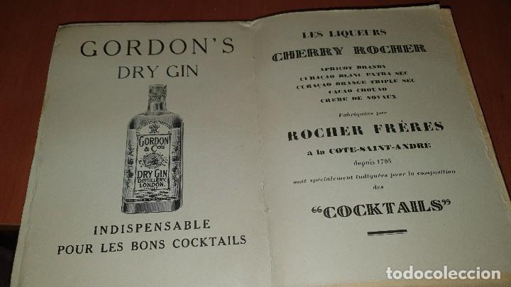 Libros antiguos: Petits et grands verres, cocktails, edicion francesa sin fechar, cocteles - Foto 9 - 184256508