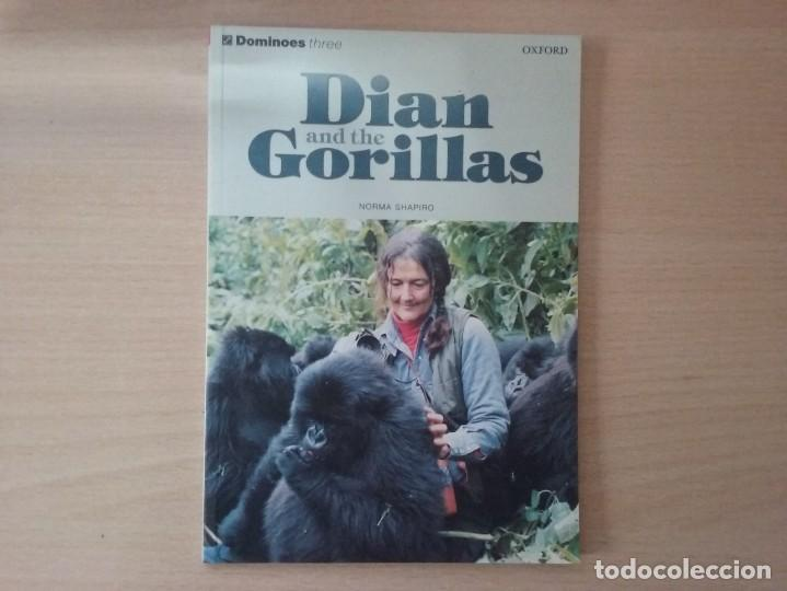 Libros antiguos: DIAN AND THE GORILLAS: A TRUE STORY - NORMA SHAPIRO DOMINOES THREE OXFORD - Foto 2 - 184267663
