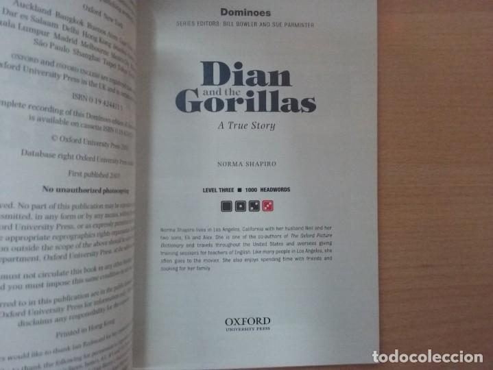 Libros antiguos: DIAN AND THE GORILLAS: A TRUE STORY - NORMA SHAPIRO DOMINOES THREE OXFORD - Foto 3 - 184267663