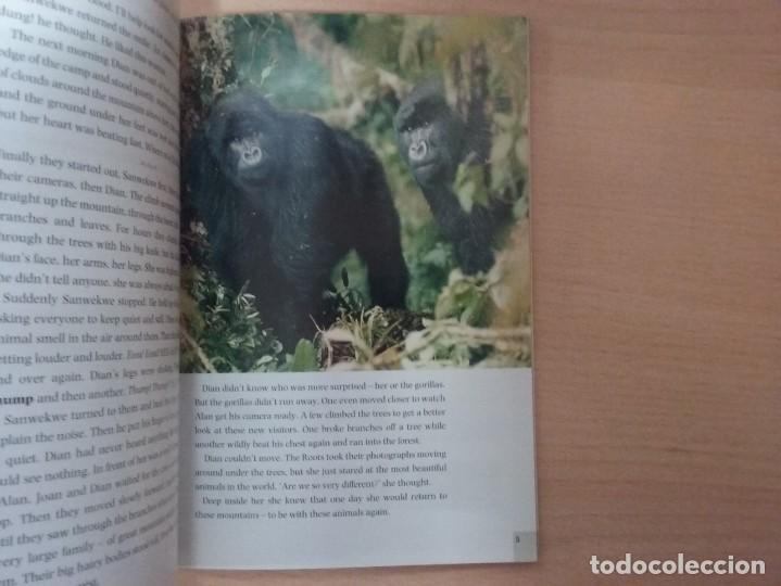 Libros antiguos: DIAN AND THE GORILLAS: A TRUE STORY - NORMA SHAPIRO DOMINOES THREE OXFORD - Foto 4 - 184267663