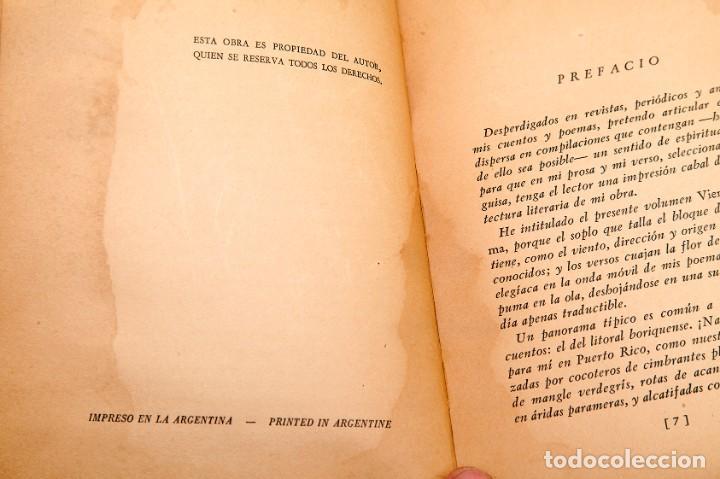 Libros antiguos: VICENTE PALÉS MATOS : VIENTO Y ESPUMA - DEDICATORIA AUTÓGRAFA DEL AUTOR - diepalismo - vanguardias - Foto 4 - 184284028