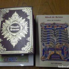 Libros antiguos: MISAL DE REIMS / MISSALE REMENSE. Lote 184356245